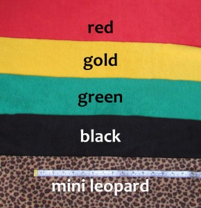 Customise your scarf with a choice of colours