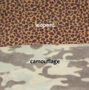 Patterned anti-pill polar fleece